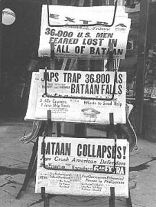 Bataan Collapses!